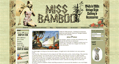 Preview of missbamboo.co.uk